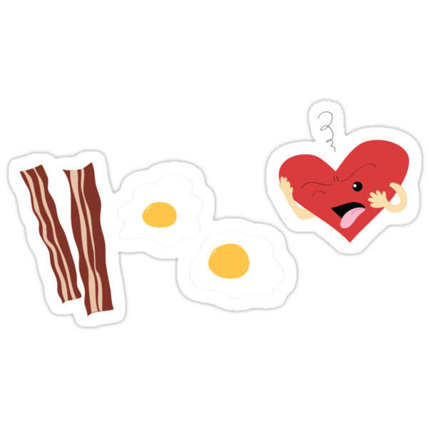 Who doesn't love bacon and eggs? by midnightowl