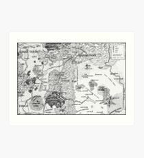RQ2 DRAGON PASS AND PRAX Map Art Print