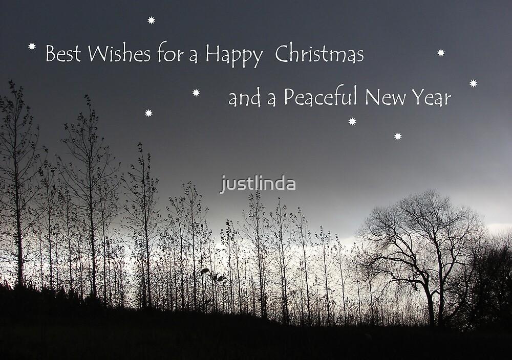 Mono Christmas Card by justlinda