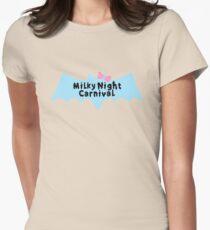 MNC - Pretty Bat Womens Fitted T-Shirt