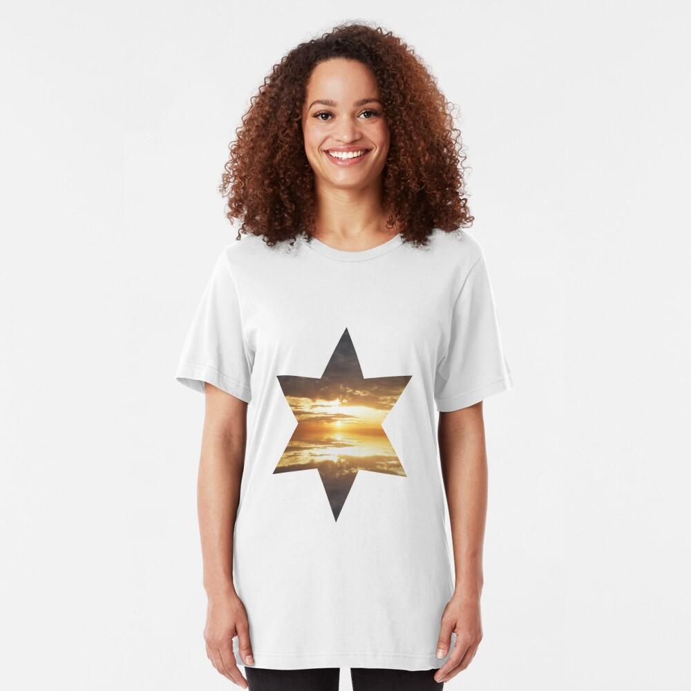 Pearly Dawn Slim Fit T-Shirt