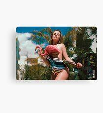 Chloe Ayling ★ Canvas Print