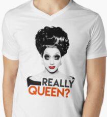 """""""Really, Queen?"""" Bianca Del Rio, RuPaul's Drag Race Queen Men's V-Neck T-Shirt"""