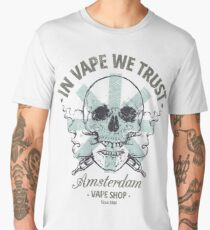 In Vape We Trust Men's Premium T-Shirt