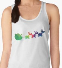 Colorful Santa Women's Tank Top