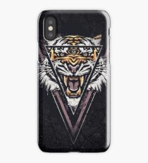 Thee-eyed Tiger iPhone Case/Skin