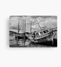 Cornwall Fishing Boat The Celtic Lass Canvas Print
