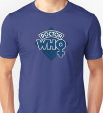 Doctor Who Classic Female Logo - Jodie Whittaker  T-Shirt