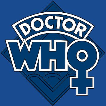 Doctor Who Classic Female Logo - Jodie Whittaker  by graphixzone101