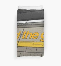 A day in London Duvet Cover