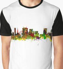 Birmingham UK City Skyline Graphic T-Shirt
