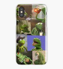 Kermit The Frog Meme iPhone Case/Skin