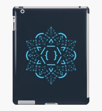 Code Mandala - React Framework iPad-Hülle & Klebefolie
