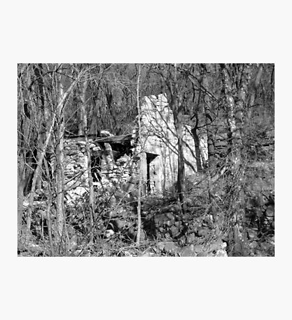 Crumbling Photographic Print