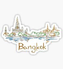 Bangkok Panorama Sticker