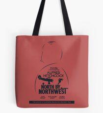 North by Northwest, Hitchcock, movie poster, alternative, thriller, minimal, Intrigo Internazionale Tote Bag