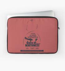 North by Northwest, Hitchcock, movie poster, alternative, thriller, minimal, Intrigo Internazionale Laptop Sleeve