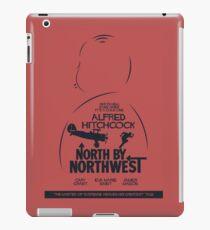 North by Northwest, Hitchcock, movie poster, alternative, thriller, minimal, Intrigo Internazionale iPad Case/Skin