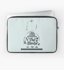 The Birds, Hitchcock Movie Poster, Horror Film, Classic Movie, Old Movie, Gli Uccelli Laptop Sleeve