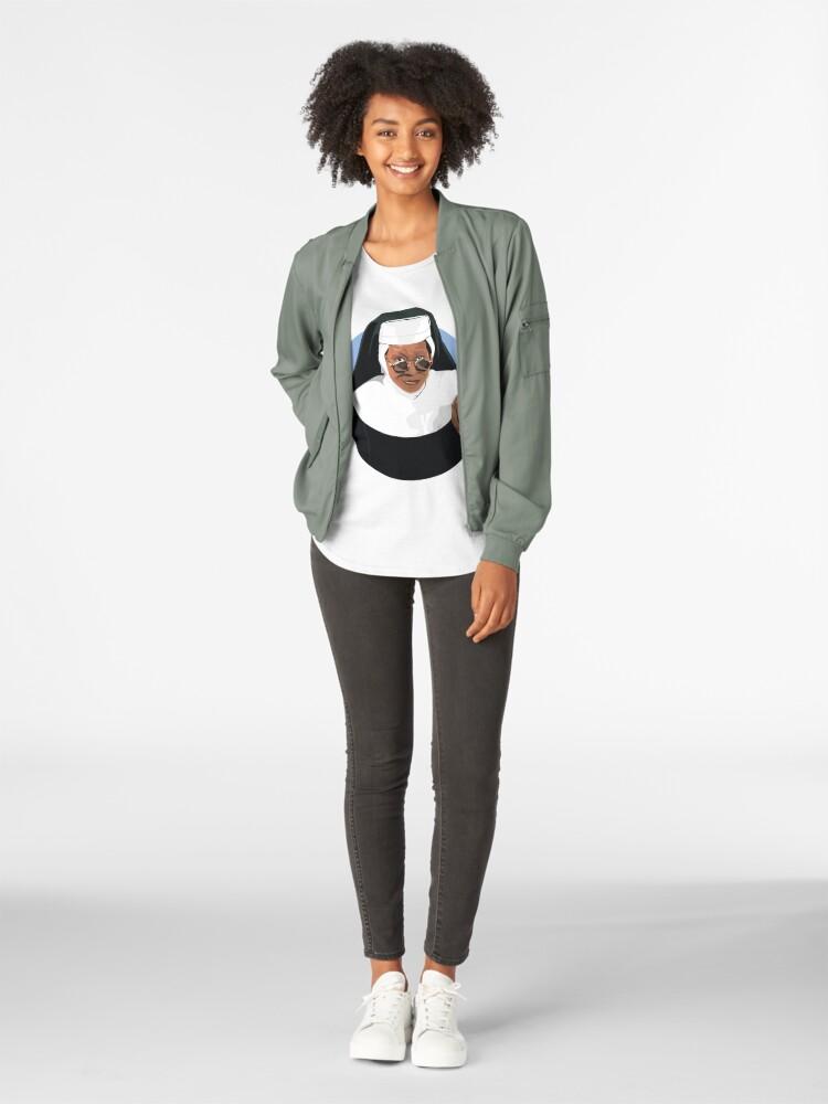Alternative Ansicht von SCHWESTER AKT_ Premium Rundhals-Shirt