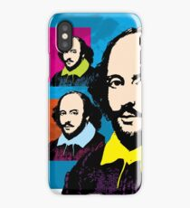 WILLIAM SHAKESPEARE - COLOURFUL ILLUSTRATION TRIPTYCH iPhone Case/Skin