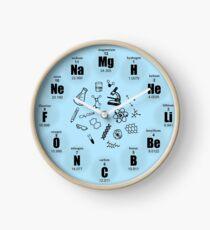 Chemistry Clock Clock