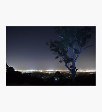 Gold Coast All Lit Up Photographic Print