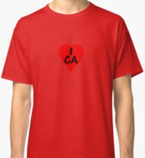 I Love Canada - Country Code CA T-Shirt & Sticker Classic T-Shirt