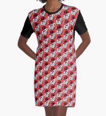 Tribute to Bulldogs Graphic T-Shirt Dress