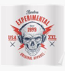 Boston Experimentell Poster