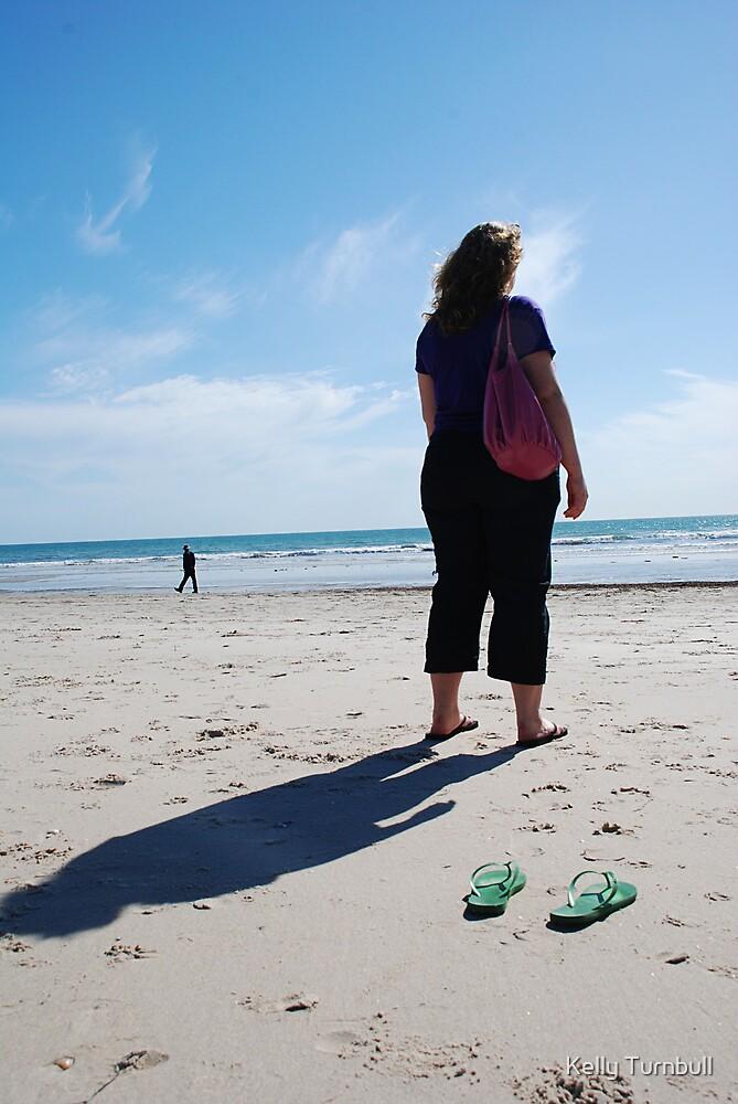 Semaphore Beach, South Australia by Kelly Turnbull