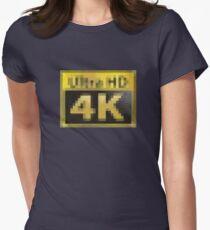 Ultra HD - 4k PCMR Women's Fitted T-Shirt
