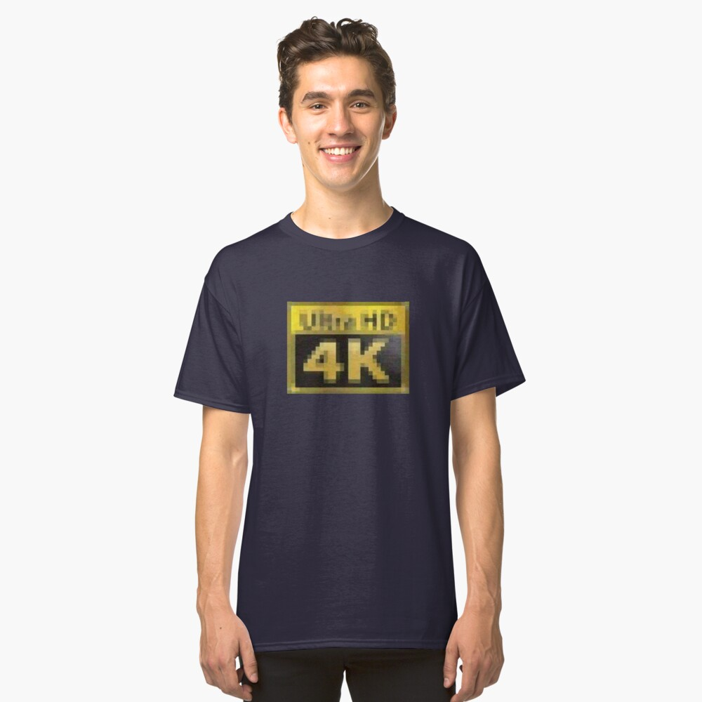 Ultra HD - 4k PCMR Classic T-Shirt Front