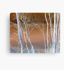 Lake Michigan Through the Trees Canvas Print
