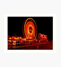 The Big Wheel Art Print