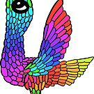 Colourful Bird Number 4 by Shelly Still