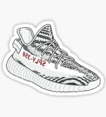 Yeezy 350 'Zebra' Sticker Sticker