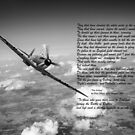 Battle of Britain Spitfire 'Per Ardua' by Gary Eason