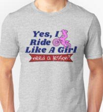 Motocross for Girls Ride Like a Girl Shirt Braap T-Shirt