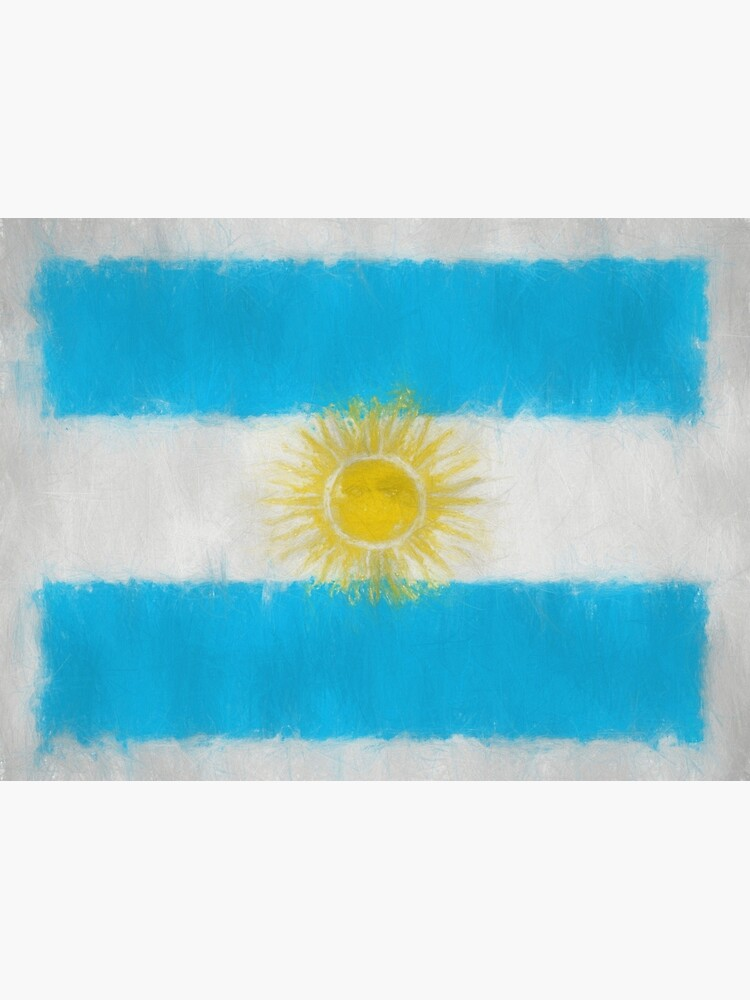 Argentinian Flag Reworked No. 66, Series 3 by 8th-and-f