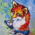 Tea Fox by Ellen Marcus