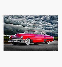 1949 Cadillac Series 62 Convertible  Photographic Print