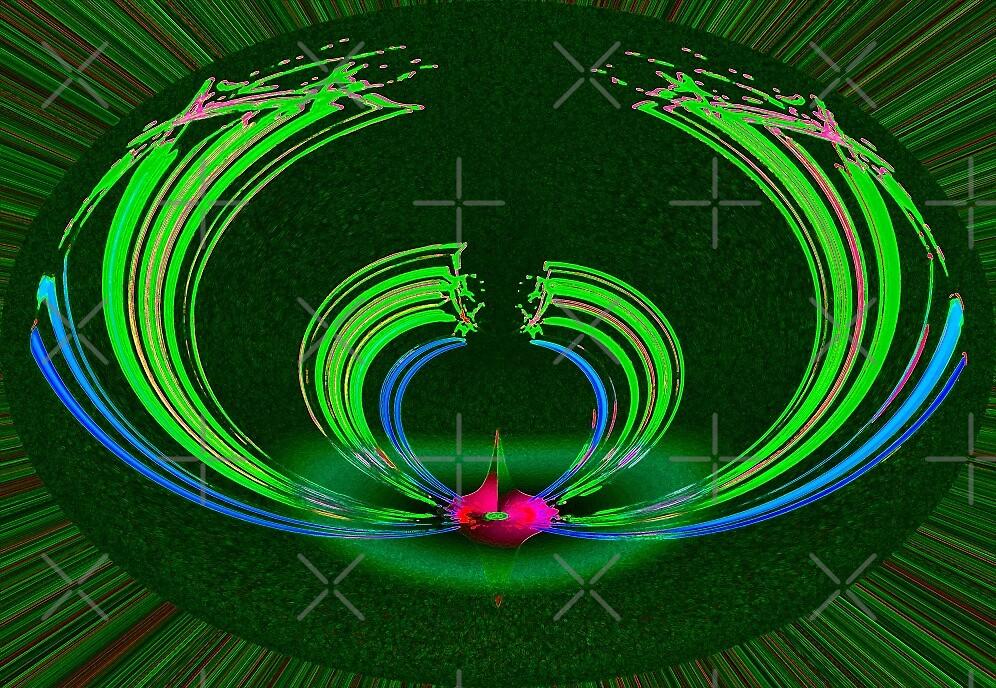 green singularity  by don quackenbush