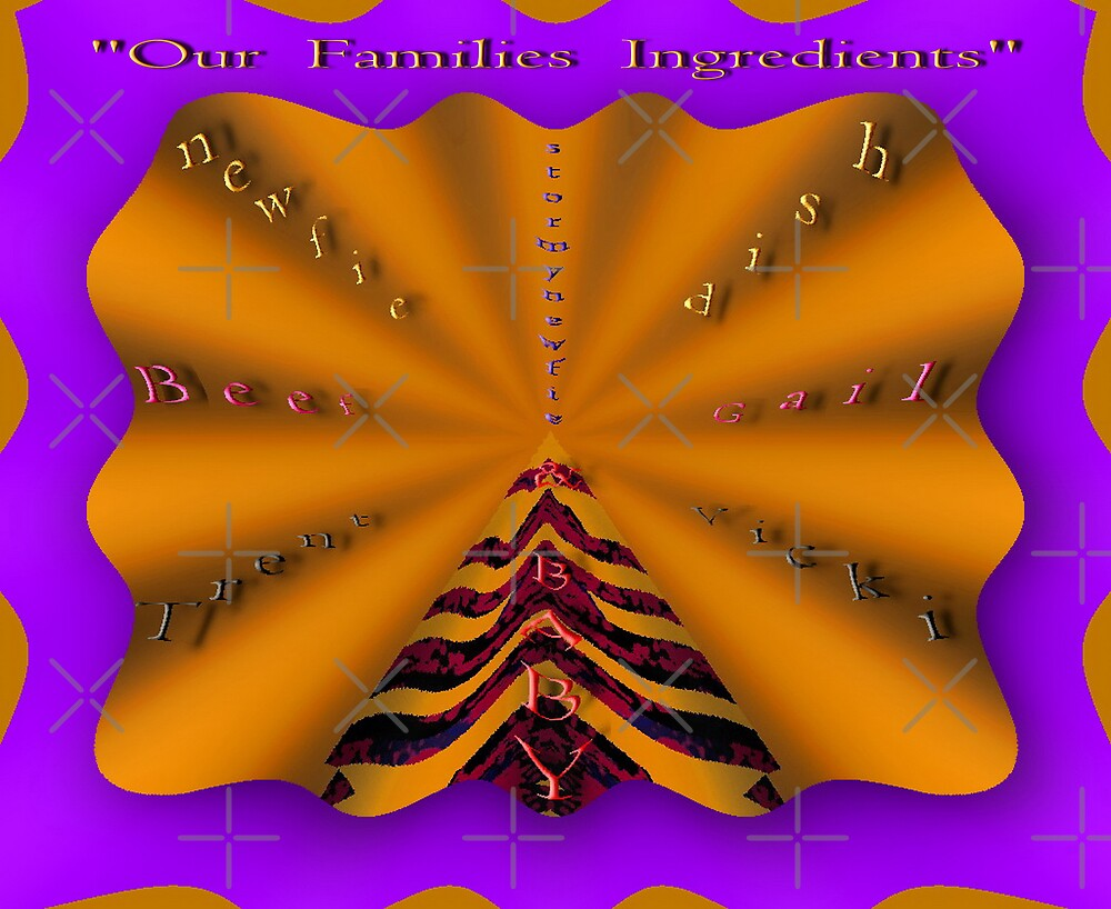Our Families Ingredients by Gail Bridger