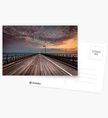Sunrise On Ryde Pier Postcards