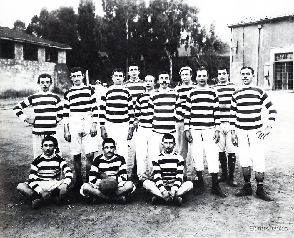 Cretan Football Players (1911) by Bentrouvakis