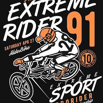 Extreme Ride Hoodie by webeller