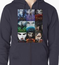Once upon a time ... Zipped Hoodie