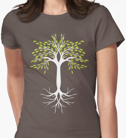 Tree Tee White  T-Shirt