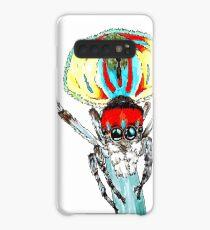 Peacock spider Maratus volans Case/Skin for Samsung Galaxy